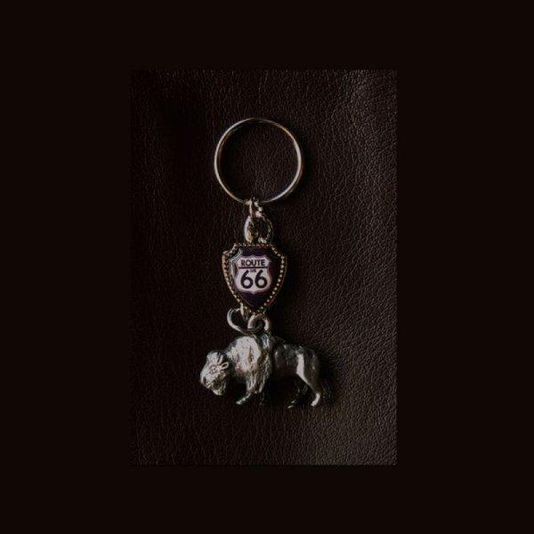 画像1: ルート66 バッファロー キーリング/Key Ring