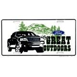 フォード ライセンスプレート グレイトアウトドア/License Plate