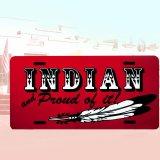 ライセンスプレート インディアン/License Plate