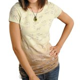 レディース ウエスタン Tシャツ ホース(半袖)/Women's Western T-shirt