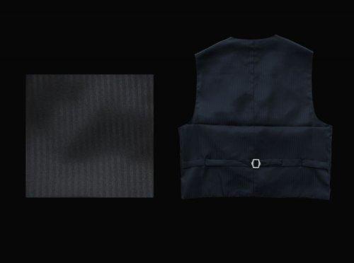 画像クリックで大きく確認できます Click↓3: スカリー オールドウエスト ベスト(ブラックフローラルストライプ)/Scully Old West Vest (Black)