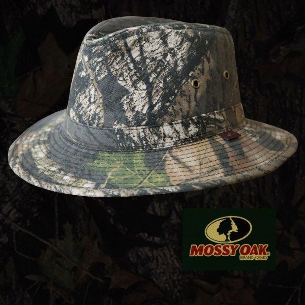 画像1: モッシーオーク カモ アウトドア ハット/MOSSY OAK CAMO Outdoor Hat