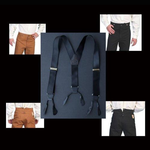 画像クリックで大きく確認できます Click↓2: ワーメーカー サスペンダー(ブラック)/Wah Maker Suspenders(Black)