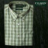 フィルソン ボタンダウンシャツ(長袖・グラス)/Filson Green Plaid Shirt(Long Sleeve)