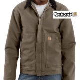 カーハート サンドストーン ディアボーン ジャケット マッシュルームS/Carhartt Sandstone Jacket