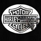 ハーレー ダビッドソン シルバー ベルトバックル/Harley Davidson Silver Buckle