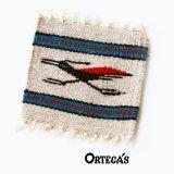 オルテガ ウール コースター ロードランナー(12cm×12cm)/Ortega's Wool Coasters