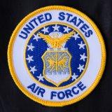 ワッペン UNITED STATES AIR FORCE ホワイト/Patch