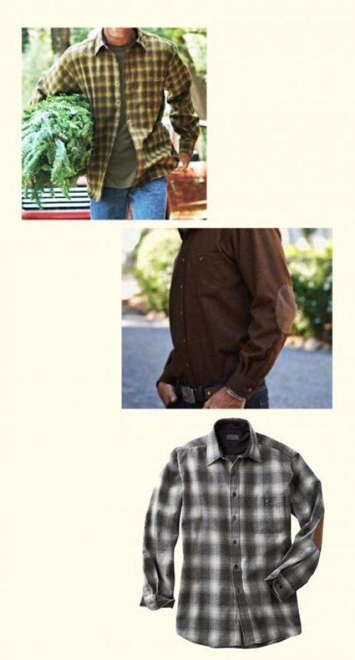 画像クリックで大きく確認できます Click↓2: ペンドルトン ウール シャツ・エルボーパッチ トレイルシャツ ロバートソンタータン/Pendleton Trail Shirt (Robertson Tartan)