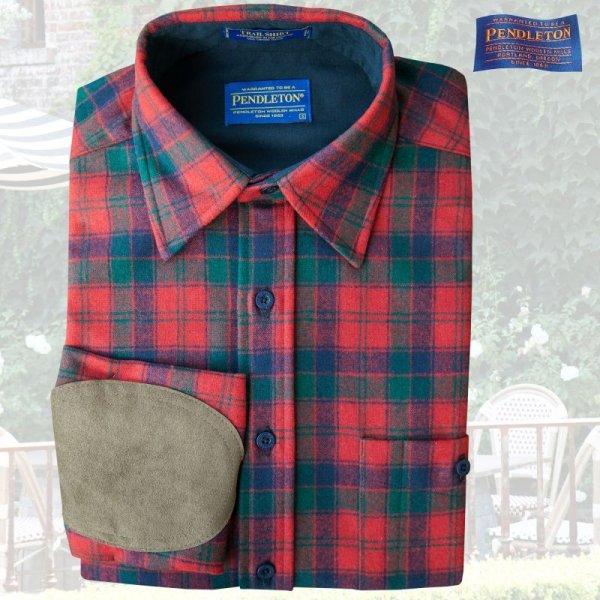 画像1: ペンドルトン ウール シャツ・エルボーパッチ トレイルシャツ ロバートソンタータン/Pendleton Trail Shirt (Robertson Tartan)