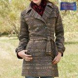 ペンドルトン ピュアーヴァージンウール トレンチ コートS/Pendleton Coat Sundown(Women's)