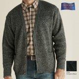 ペンドルトン シェトランド ウール カーディガン(エバーグリーン・ブラック)S/Pendleton Shetland Wool Cardigan