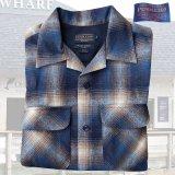 ペンドルトン ウールシャツ フィッテッド ボードシャツ タン・ブルーオンブレS/Pendleton Fitted Board Shirt