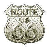ルート66 ダイヤモンド メタルサイン/Metal Sign Route 66