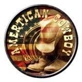 アメリカン カウボーイ メタルサイン/Metal Sign American Cowboy