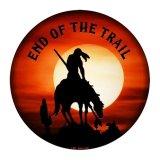 エンド オブ ザ トレイル メタルサイン/Metal Sign End Of The Trail