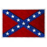 アメリカ 南軍旗 メタルサイン/Metal Sign Confederate Flag