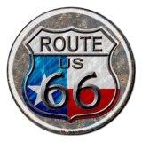 テキサス ルート66 メタルサイン/Metal Sign Route 66