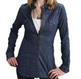ステットソン ウエスタン デニムシャツ(長袖)XS/Stetson Long Sleeve Western Denim Shirt(Women's)