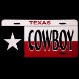 ライセンスプレート テキサスカウボーイ/License Plate