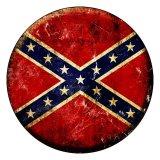 アメリカ 南部連合国旗 メタルサイン/Metal Sign
