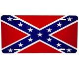 アメリカ 南部連合国旗 ライセンス プレート/License Plate