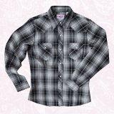 ローパー ウエスタン シャツ(長袖/ブラック・ホワイト)/Roper Long Sleeve Western Shirt(Women's)