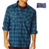 ペンドルトン ウエスタンシャツ(ターコイズオンブレ)/Pendleton Western Shirt
