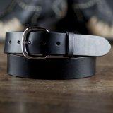 """ファニー 38mm ハーネス ベルト(ブラック)/Funny 1-1/2""""Harness Belt(Black)"""