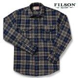 フィルソン ノースウエスト ウールシャツ(ダークブループラッド)/Filson Northwest Wool Shirt