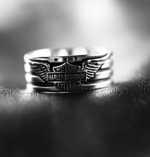 画像クリックで大きく確認できます Click↓1: ハーレーダビッドソン シルバーリング/Harley Davidson Sterling Silver Ring