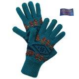 ペンドルトン スマートフォン対応 メリノウール グローブ(手袋)ダイアモンドリバー/Pendleton Jacquard Texting Glove