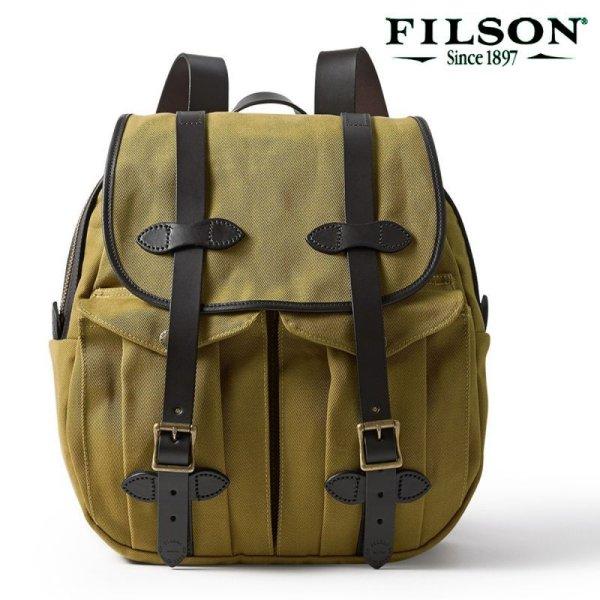 画像1: フィルソン リュックサック(タン)/Filson Rucksack