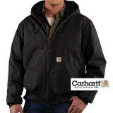 カーハート リップストップ アクティブ ジャケット(ブラック)S/Carhartt Ripstop Active Jacket