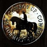 カウボーイ アップ メタルサイン/Metal Sign Cowboy Up