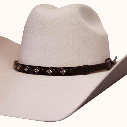 画像クリックで大きく確認できます Click↓2: ブルハイド 8X ファーブレンド カウボーイハット(バックスキン)/Bullhide Cowboy Hat