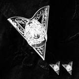 ウエスタン カラーチップ(カウボーイハット・シルバー)/Collar Tips