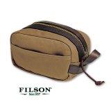 フィルソン トラベルキット(タン)/Filson Travel Kit(Tan)
