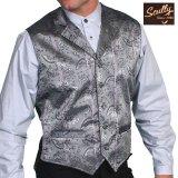 スカリー オールドウエスト ベスト(グレー)/Scully Old West Vest (Grey)