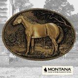 モンタナシルバースミス ベルト バックル スタンディングホース/Montana Silversmiths Belt Buckle