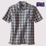 ペンドルトン バーロウ アウトドア シャツ (半袖 ・ブルー)S/Pendleton Barlow Outdoor Shirt