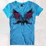 レディース ウエスタン Tシャツ ターコイズ(半袖)S/Women's Western T-shirt