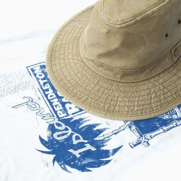 画像2: ペンドルトン キャンバス インディアナ ハット(タン)/Pendleton Canvas Indiana Hat(Tan)