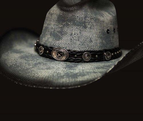 画像クリックで大きく確認できます Click↓1: ブルハイド ウエスタン ストローハット(イントゥ ユー)/BULLHIDE Western Straw Hat Into You