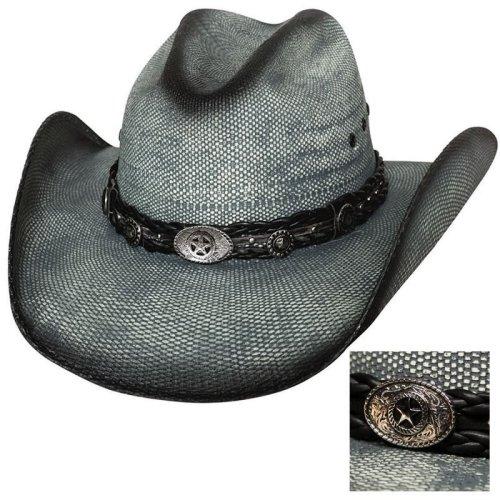 画像クリックで大きく確認できます Click↓2: ブルハイド ウエスタン ストローハット(イントゥ ユー)/BULLHIDE Western Straw Hat Into You
