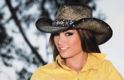 画像クリックで大きく確認できます Click↓3: ブルハイド ウエスタン ストローハット(ラブマイセルフ)/BULLHIDE Western Straw Hat Love Myself