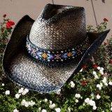 ブルハイド ウエスタン ストローハット(ラブマイセルフ)/BULLHIDE Western Straw Hat Love Myself