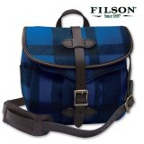 フィルソン マッキーノ スモール フィールドバッグ(ブルー×ブラック)/Filson Mackinaw Small Field Bag(Blue×Black)