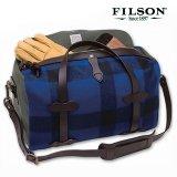 フィルソン マッキーノ スモールダッフル(ブルー×ブラック)/Filson Mackinaw Small Duffle Bag(Blue×Black)