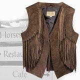 スカリー ウエスタン フリンジ ベスト(ブラウン)XS/Scully Western Fringe Vest(Women's)
